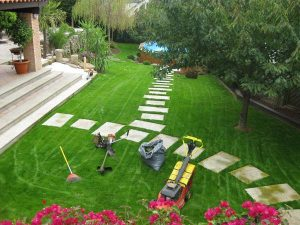 mantenimiento y cuidado de jardines vigo
